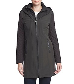MICHAEL Michael Kors® Softshell Quilted Sleeve Coat
