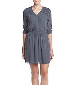 DR2 by Daniel Rainn™ Roll Tab Sleeve Dress
