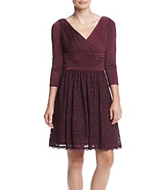 Adrianna Papell® Jersey Lace Dress