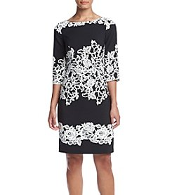 Adrianna Papell® Lace Applique Shift Dress
