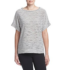 Jones New York® Shadow Stripe Top