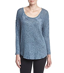 Oneworld® Lace Detail Raglan Top