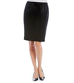 Calvin Klein Straight Velvet Skirt