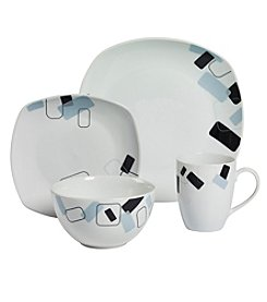 Gallery® Dean Soft Square 16-pc. Dinnerware Set