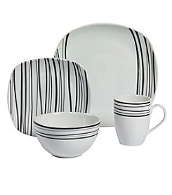 Gallery® Justin Soft Square 16-pc. Dinnerware Set