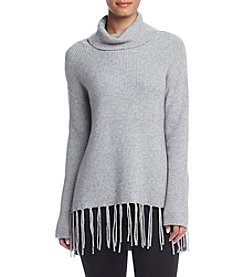 Ruff Hewn GREY Fringe Sweater