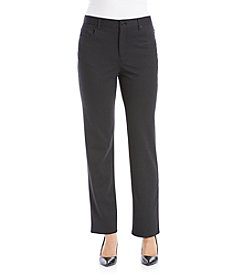 Gloria Vanderbilt® Amanda Printed Ponte Pants