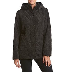 Breckenridge® Petites' Pattern Quilted Coat