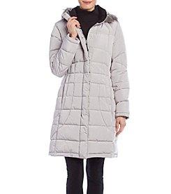 Calvin Klein Petites' Box Quilt Down Jacket