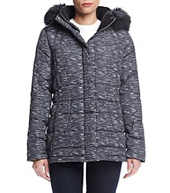 Calvin Klein Petites' Box Quilted Down Jacket