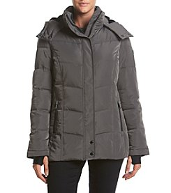 Calvin Klein Petites' Short Lined Down Jacket