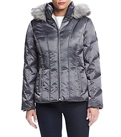 Calvin Klein Petites' Vertically Seamed Down Jacket