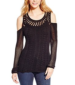 Jessica Simpson Cierra Cold Shoulder Sweater