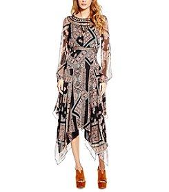 Jessica Simpson Ida Long Tapestry Dress