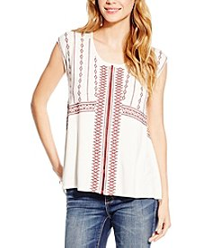 Jessica Simpson Zoe Embroidered Top