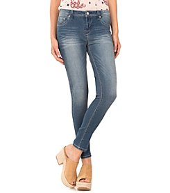 Wallflower® Tinted Medium Wash Sassy Skinny Jeggings