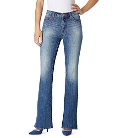 Bandolino® Petites' Mandie Barely Bootcut Jeans