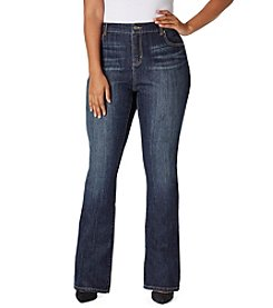 Bandolino® Plus Size Mandie Barely Bootcut Jeans