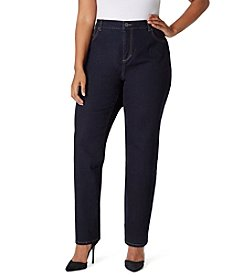 Bandolino® Plus Size Mandie Denim Jeans