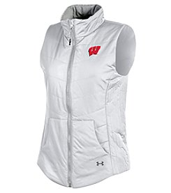 Under Armour® NCAA® Wisconsin Badgers Women's Shifter Puffer Vest