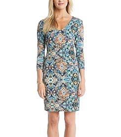 Karen Kane® Tulum Tile Dress