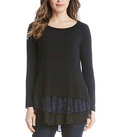 Karen Kane® Lace Insert Sweater