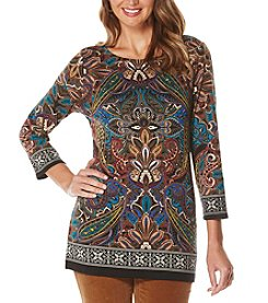 Rafaella® Petites' Engineered Print Tunic