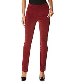 Rafaella® Petites' Pull On Corduroy Pants