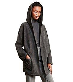 Lauren Active® Cotton Shawl-Collar Cardigan