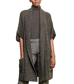 Lauren Active® Cotton-Cashmere Shawl Cardigan