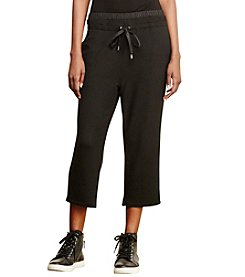 Lauren Active® Cropped Drawstring Pants