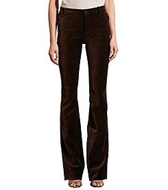 Lauren Ralph Lauren® Flared Velvet Pant