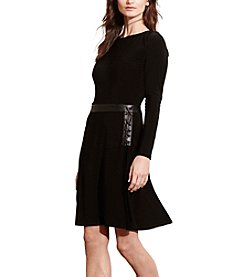 Lauren Ralph Lauren® Lace-Up Jersey Dress