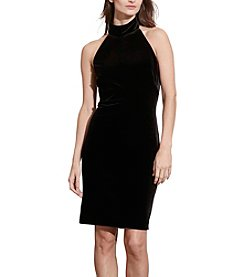 Lauren Ralph Lauren® Mockneck Halter Dress