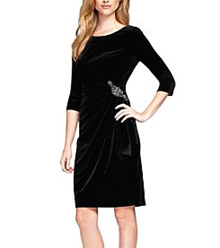 Alex Evenings® Velvet Dress