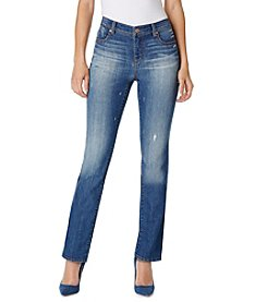 Bandolino® Petites' Juliana Rail Straight Jeans
