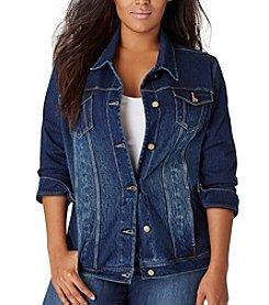 Bandolino® Plus Size Jessa Denim Jacket
