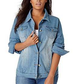 Bandolino® Plus Size Jessa Denim Jacket