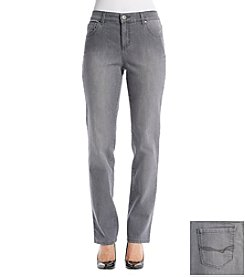 Bandolino® Petites' Mandie Denim Straight Leg Jeans