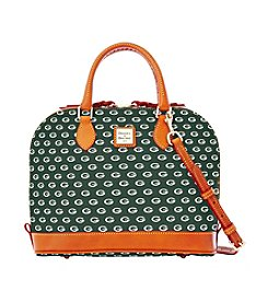 Dooney & Bourke® NFL® Packers Zip Zip Satchel