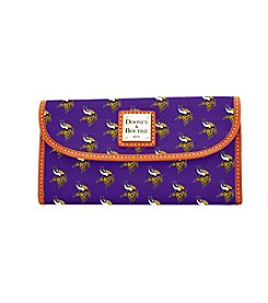 Dooney & Bourke® NFL® Minnesota Vikings Continental Clutch