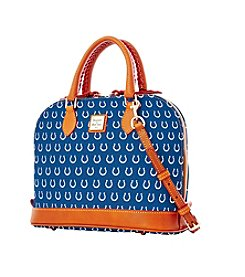 Dooney & Bourke® NFL® Indianapolis Colts Zip Zip Satchel