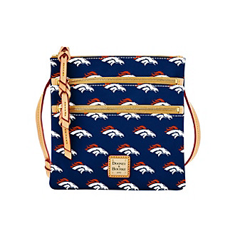 Dooney & Bourke® NFL® Denver Broncos Triple Zip Cros