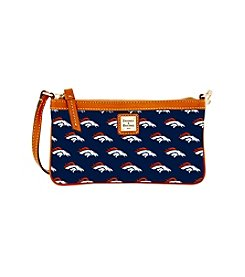 Dooney & Bourke® NFL® Broncos Large Slim Wristlet