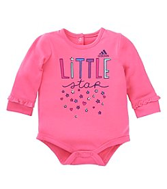 adidas® Baby Girls' Little Star Bodysuit