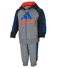 adidas® Baby Boys Warm-Up Set