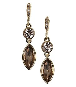 Givenchy® Vintage Navette Drop Earrings