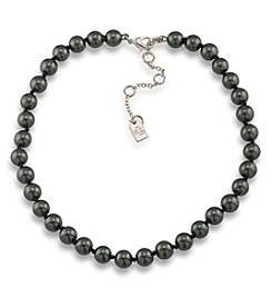 Lauren Ralph Lauren® Black Pearl Choker Necklace