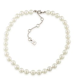 Lauren Ralph Lauren® White Pearl Choker Necklace