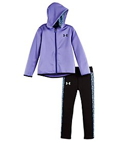 Under Armour® Baby Girls' 2-Piece Chain Grid Track Set